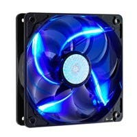 Cooler Master SickleFlow 120 - Sleeve Bearing 120mm Blue LED Silent Fan for Computer Cases, CPU Coolers, and Radiators - Blue LED, 120x120x25 mm, 2000 RPM, 69 CFM air flow, 19 dBA noise level, 50000 h