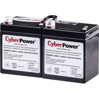 CyberPower RB1270X2A UPS Replacement Battery Cartridge 12V 7AH - 7000 mAh - 12 V DC - Sealed Lead Acid - Spill-proof/Maintenance-free - 3 Year Minimum Battery Life - 5 Year Maximum Battery Life