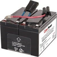 CyberPower RB1290X2B UPS Replacement Battery Cartridge for PR750LCD - 7000 mAh - 12 V DC - Sealed Lead Acid - Spill-proof/Maintenance-free - 3 Year Minimum Battery Life - 5 Year Maximum Battery Life