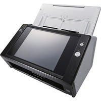Fujitsu N7100 Sheetfed Scanner - 600 dpi Optical - 24-bit Color - 8-bit Grayscale - 25 - 25 - PC Free Scanning - Duplex Scanning - Ethernet