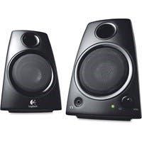 Logitech Z130 2.0 Speaker System - 5 W RMS - Desktop - Black - Volume Control
