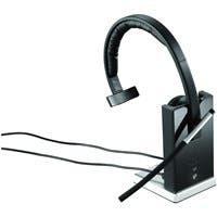 Logitech Wireless Headset Mono H820e - Mono - Wireless - DECT - 328.1 ft - 150 Hz - 7 kHz - Over-the-head - Monaural - Supra-aural - Electret Microphone