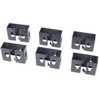 APC Cable Containment Brackets - Black