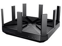 TP-LINK Archer C5400 IEEE 802.11ac Ethernet Wireless Router - 2.40 GHz ISM Band - 5 GHz UNII Band - 8 x Antenna(8 x External) - 5400 Mbit/s Wireless Speed - 4 x Network Port - 1 x Broadband Port - USB