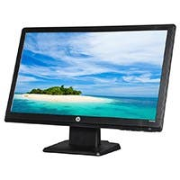 "HP W2081D Black 20"" 5ms Widescreen LED Backlight LCD Monitor"