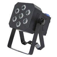 Stage Right by Monoprice Super-Bright 12-watt x 7 LED PAR Stage Light (RGBAW-UV) (Open Box)