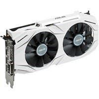 Asus DUAL-GTX1060-O6G GeForce GTX 1060 Graphic Card - 1.59 GHz Core - 1.81 GHz Boost Clock - 6 GB GDDR5 - PCI Express 3.0 - Dual Slot Space Required - 192 bit Bus Width - Fan Cooler - OpenGL 4.5, Dire