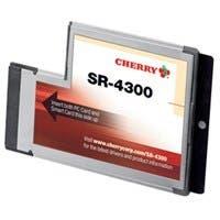 Cherry SR-4300 ExpressCard Smart Card Reader - Smart Card - ExpressCard