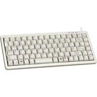 Cherry Ultraslim G84-4100 POS Keyboard - 83 Keys - PS/2, USB - Light Gray