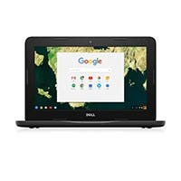 Dell Chromebook 11 3180 RH02N 11.6-Inch Laptop (Black)