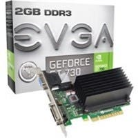 EVGA GeForce GT 730 Graphic Card - 902 MHz Core - 2 GB DDR3 SDRAM - PCI Express 2.0 - Single Slot Space Required - 1800 MHz Memory Clock - 64 bit Bus Width - DirectX 12, OpenGL 4.4, OpenCL - 1 x HDMI