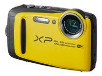 Fujifilm FinePix XP120 Camera, 16.4MP, 5x Zoom, Yellow - 16544125