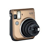 Fujifilm - MINI70GLD CANDY KIT - Instax Mini 70 Stardust Gold With 1 Pack Mini Candypop Film