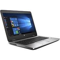 """HP Smart Buy ProBook 650 G3 i7-7600U 2.8GHz 8GB 256GB DVD-RW W10P64 15.6"""" FHD - 1BS02UT#ABA"""