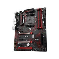 MSI X370 GAMING PLUS AM4 AMD X370 SATA 6Gb/s USB 3.1 HDMI ATX AMD Motherboard