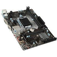 MSI H110M PRO-VD PLUS Desktop Motherboard - Intel H110 Chipset - Socket H4 LGA-1151 - Micro ATX - 1 x Processor Support - 32 GB DDR4 SDRAM Maximum RAM - 2.13 GHz Memory Speed Supported - UDIMM, DIMM -