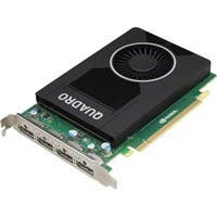 PNY Quadro M2000 Graphic Card - 4 GB GDDR5 - PCI Express 3.0 x16 - Single Slot Space Required - 128 bit Bus Width - Fan Cooler - OpenGL 4.5, OpenCL, DirectX 12, DirectCompute 5.0 - 4 x DisplayPort - P