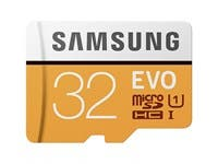 Samsung 32GB EVO MicroSDHC Card with SD Adapter
