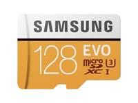 Samsung 128GB EVO MicroSDXC Card with Adapter
