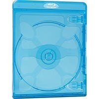 Verbatim Blu-Ray DVD Blue Cases - 30pk - TAA Compliant - Plastic