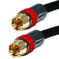 50ft High-quality Coaxial Audio/Video RCA CL2 Rated Cable - RG6/U 75ohm (for S/PDIF, Digital Coax, Subwoofer & Composite Video)