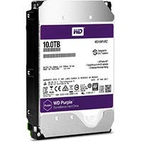 "WD 10TB Purple 5400 rpm SATA III 3.5"" Internal Surveillance Hard Drive"