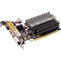 Zotac ZT-71113-20L GeForce GT 730 Graphic Card - 902 MHz Core - 2 GB DDR3 SDRAM - PCI Express 2.0 x16 - 1600 MHz Memory Clock - 64 bit Bus Width - 2560 x 1600 - Passive Cooler - DirectX 12, OpenGL 4.4