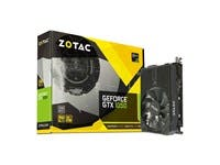 ZOTAC GeForce GTX 1050, 2GB GDDR5 DisplayPort, HDMI, Dual-Link DVI-D, Super Compact Gaming Graphics Card (ZT-P10500A-10L)