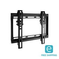 Monoprice Essentials Ultra-Slim Tilt TV Wall Mount Bracket - For TVs Up to 42in, Max Weight 77lbs, VESA Patterns Up to 200x200, UL Certified