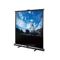 80-inch, 4:3 White Fabric Portable Pull-Up Projection Screen (Open Box)
