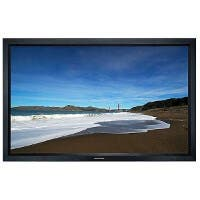 150-inch, 16:9 HD White Fabric Fixed Frame Projection Screen (Open Box)