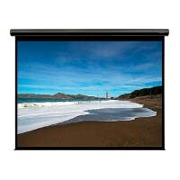 106-inch, 16:9 Matte White Fabric Motorized Projection Screen (Open Box)