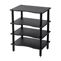 Monolith by Monoprice 4 Tier Audio Stand (Black)