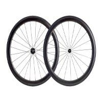 50mm Carbon Clincher Wheelset featuring Sapim CX-Ray Spokes  (Open Box)