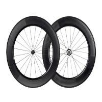 88mm Carbon Clincher Wheelset featuring Sapim CX-Ray Spokes  (Open Box)