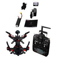 Walkera GPS 800TVL Advance Runner 250 Quadcopter Drone, FPV Ready to Fly Kit -(DEVO 7,100mW, mode 2,OSD, TX5816) (Open Box)