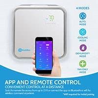 RolliCool Ductless Mini Split Air Conditioner 42dB Ultra Quiet 10,000 BTU AC 27953