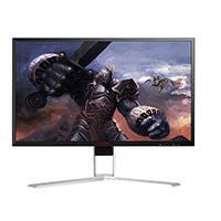 "AOC AG241QG Agon 24"" Gaming Monitor, 2560x1440 Res, 165hz, 1ms, G-Sync, HDMI, DP, USB, SPK, Height-Pivot"