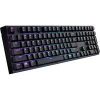 Cooler Master Masterkeys Pro L SGK-6020-KKCL1-US Keyboard - Cable Connectivity - USB 2.0 Interface - QWERTY Keys Layout - Mechanical - Black