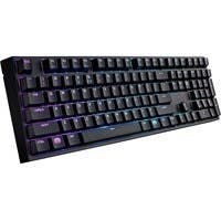 Cooler Master Masterkeys Pro L SGK-6020-KKCR1-US Keyboard - Cable Connectivity - USB 2.0 Interface - QWERTY Keys Layout - Mechanical - Black