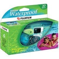 Fujifilm QuickSnap Waterproof 35mm Disposable Camera - 35mm)