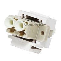 Monoprice Keystone Jack - Modular LC (White)