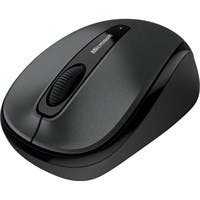 Microsoft 3500 Wireless Mobile Mouse - BlueTrack - Wireless - Gray - USB
