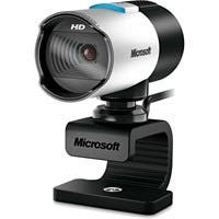 Microsoft LifeCam Webcam - 30 fps - USB 2.0 - 5 Megapixel Interpolated - 1920 x 1080 Video - CMOS Sensor - Auto-focus - Microphone