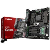 MSI Enthusiast Gaming Intel X299 LGA 2066 DDR4 USB 3.1 SLI ATX Motherboard (X299 GAMING M7 ACK)