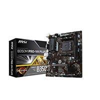 MSI B350M PRO-VH PLUS AM4 AMD B350 SATA 6Gb/s USB 3.1 HDMI Micro ATX AMD Motherboard
