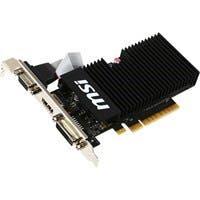 MSI GT 710 1GD3H LPV1 GeForce GT 710 Graphic Card - 954 MHz Core - 1 GB DDR3 SDRAM - PCI Express 2.0 x8 - 1600 MHz Memory Clock - 64 bit Bus Width - Passive Cooler - DirectX 12, OpenGL 4.5 - 1 x HDMI