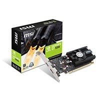 MSI GT 1030 2G LP OC NVIDIA PCI-E Graphic Card - 64 bit Bus Width - Fan Cooler - DirectX 12, OpenGL 4.5 - 1 x DisplayPort - 1 x HDMI - PC - 2 x Monitors Supported