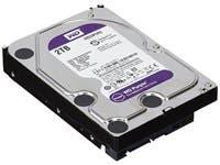 WD Purple 2TB Surveillance Hard Disk Drive - 5400 RPM Class SATA 6 Gb/s 64MB Cache 3.5 Inch - WD20PURZ 29376