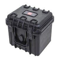 Monoprice Open Box Weatherproof Hard Case with Customizable Foam 10x9x7-inch (Open Box)